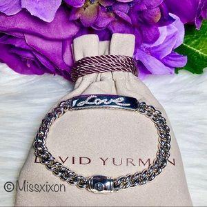 ❤️David Yurman LOVE ID Bracelet with Diamonds